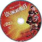 carátula bluray de Los Increibles - Disco - Region A