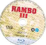 carátula bluray de Rambo 3 - Disco