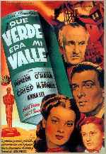 Que Verde Era Mi Valle V3 Carátula Carteles How Green Was My Valley 1941