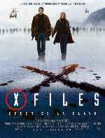 carátula carteles de X Files - Creer Es La Clave - Expediente X 2