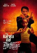 carátula carteles de The Karate Kid - 2010 - V2