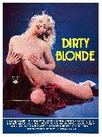 carátula carteles de Dirty Blonde - 1984 - Xxx