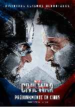 carátula carteles de Capitan America - Civil War