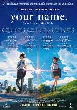 carátula carteles de Your Name - Catalan