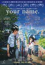 carátula carteles de Your Name - V2