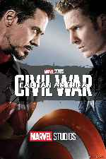 carátula carteles de Capitan America - Civil War - V17