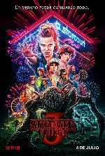 carátula carteles de Stranger Things 3