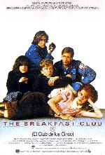 carátula carteles de The Breakfast Club - El Club De Los Cinco