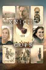 carátula carteles de Knight Of Cups