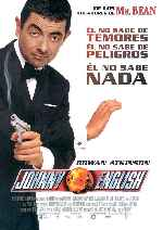 carátula carteles de Johnny English - V2