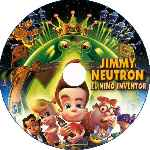 carátula cd de Jimmy Neutron - El Nino Inventor - Custom