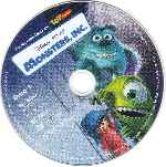 carátula cd de Monsters Inc - Dvd 01 - Region 1-4