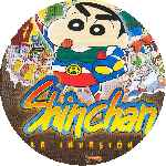 carátula cd de Shin Chan - La Invasion - Custom