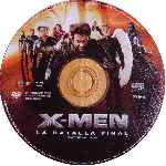 carátula cd de X-men 3 - La Batalla Final - Region 4 - V2