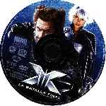 carátula cd de X-men 3 - La Batalla Final - Region 4