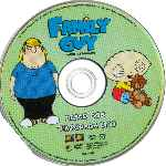 carátula cd de Family Guy - Padre De Familia - Temporada 01 - Disco 02 - Region 1-4