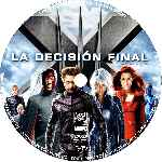carátula cd de X-men 3 - La Decision Final - Custom - V5