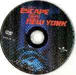 carátula cd de Escape De Nueva York - Region 1-4