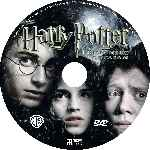 carátula cd de Harry Potter Y El Prisionero De Azkaban - Custom - V3