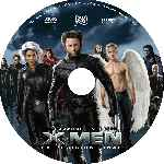 carátula cd de X-men 3 - La Decision Final - Custom - V6