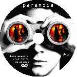 carátula cd de Paranoia - 2007 - Disturbia - Custom