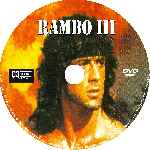 carátula cd de Rambo 3 - Custom