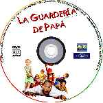 carátula cd de La Guarderia De Papa - Custom