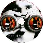 carátula cd de Disturbia - Custom - V3