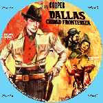 carátula cd de Dallas Ciudad Fronteriza - Custom