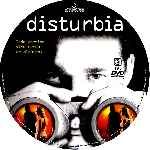 carátula cd de Disturbia - Custom - V4