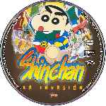 carátula cd de Shin Chan - La Invasion - Custom - V2