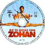 carátula cd de No Te Metas Con Zohan - Region 4