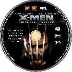 carátula cd de X-men Origenes - Lobezno - Custom