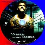 carátula cd de X-men Origenes - Lobezno - Custom - V02