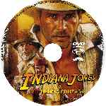 carátula cd de Indiana Jones Y La Ultima Cruzada - Custom - V3
