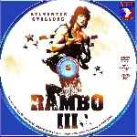 carátula cd de Rambo 3 - Custom - V2