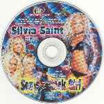 carátula cd de Silvia Saint - Sexy Rock Girl - Xxx
