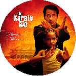 carátula cd de The Karate Kid - 2010 - Custom - V4