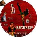 carátula cd de Karate Kid - 2010 - Custom - V5