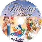 carátula cd de Fabulas De Disney - Volumen 03-04 - Custom