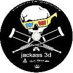 carátula cd de Jackass 3d - Custom - V2