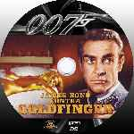 carátula cd de James Bond Contra Goldfinger - Custom - V2