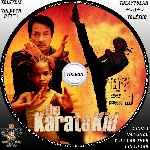 carátula cd de The Karate Kid - 2010 - Custom - V7
