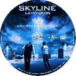 carátula cd de Skyline - La Invasion - Custom - V2