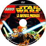carátula cd de Lego Star Wars - La Amenaza Padawan - Custom