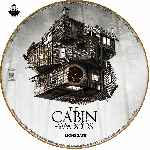 carátula cd de The Cabin In The Woods - Custom - V2
