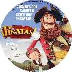 carátula cd de Piratas - 2012 - Custom - V2