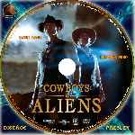 carátula cd de Cowboys & Aliens - Custom - V09