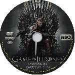 carátula cd de Game Of Thrones - Temporada 01 - Custom