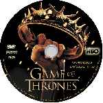 carátula cd de Game Of Thrones - Temporada 02 - Custom